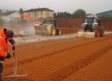 Traitement de déblais pour réutilisation en remblais