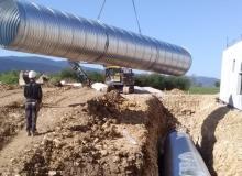 pose cuve récupération eaux pluviales