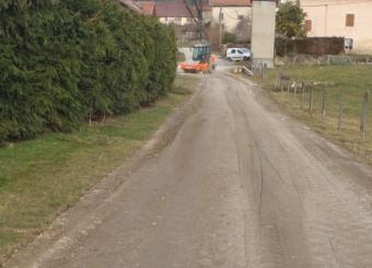 Rénovation chemin rural