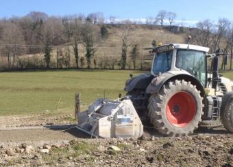 Création chemins de dessertes d'exploitation agricole