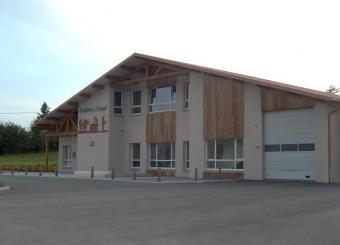 Terrassement VRD aménagements extérieurs Fromagerie de Flangebouche